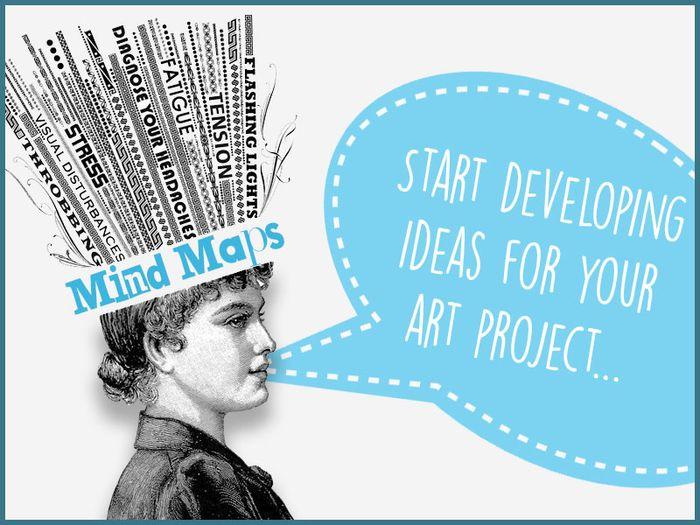 Art Ideas Mind Map Designs