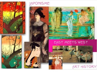 Japonism ~ Art History ~ Western Art & Japan Trade Opening ~ 1800s ~ 212 Slides