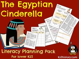 Egyptian Cinderella Planning  (Egyptians Topic)