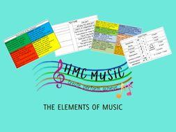 The musical element listening mat