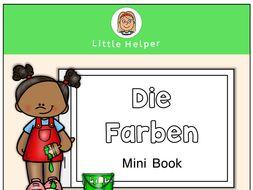 German Mini Book - die Farben