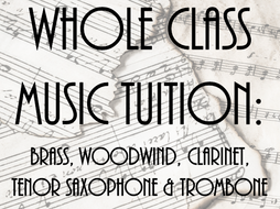 Whole Class Music Tuition: Bundle