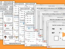 Year 6 Divide by 10, 100 and 1,000 Spring Block 1 Step 3 Maths Lesson Pack