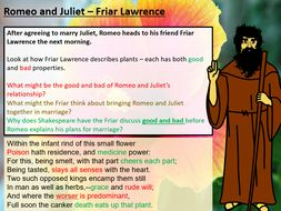 Romeo and Juliet - Friar Lawrence