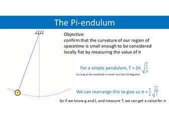 The Pi-endulum
