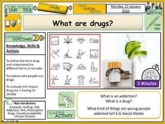 What is a drug ? - Drugs Education