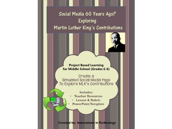 Martin Luther King Jr. Impact on Society - Social Media Simulation