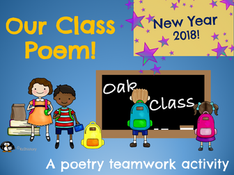 Our Class Poem - New Year Activity