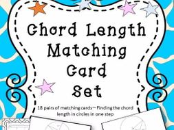 Finding Chord Length in 1 Step Matching Cards