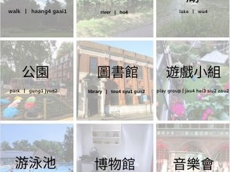 Cantonese places around the town
