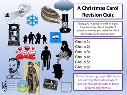 A Christmas Carol English Quiz