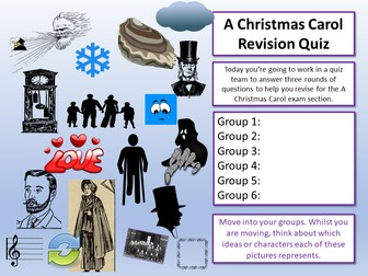 A Christmas Carol Revision Quiz