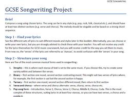 GCSE Songwriting
