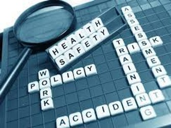 Unit 3 Health, Safety and Security LO3&LO4 practise questions