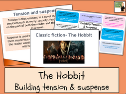 English- The Hobbit- Building tension and suspense in writing