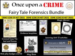 Once Upon a Crime, Fairytale Forensics Bundle