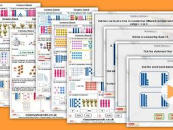 Year 2 Compare Objects Autumn Block 1 Step 6 Maths Lesson Pack