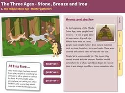 Hunter-Gatherers - Interactive Teaching Book - The Stone Age KS2