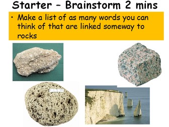 Rocks and Their Formation