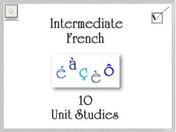 Intermediate French: 10 Unit Studies