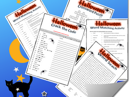 Halloween Fun Activities Bundle