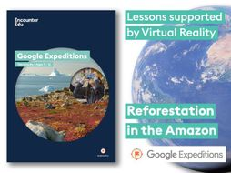 Solving deforestation in the Amazon #GoogleExpeditions