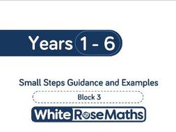 White Rose Maths - Schemes of Learning - Autumn - Block 3