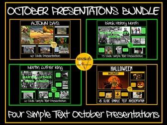 October Assemblies