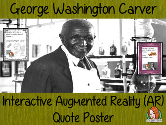 George Washington Carver Interactive Quote Poster