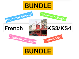 french ks3 grammar workbook worksheets by parlezvousfrancais01 teaching resources. Black Bedroom Furniture Sets. Home Design Ideas
