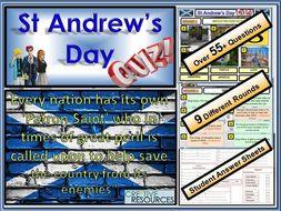 St Andrew's Day Quiz FUN/C8/QZ/50