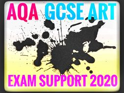 AQA GCSE ART EXAM 2020