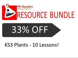 KS3 Plants - Lesson Set (10 Lessons!)