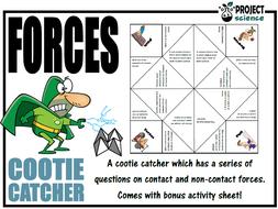 Forces Cootie Catcher