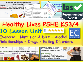 Healthy Living PSHE