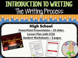 The writing process stages of writing introduction to writing the writing process stages of writing introduction to writing high school ibookread ePUb