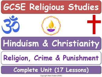Hinduism & Christianity - Religion, Crime & Punishment (17 Lessons)