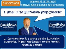 Eurovision 2019 - Tel Aviv Israel - MFL SPANISH