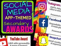 Social Media App-Themed Secondary Awards