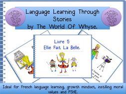 French Story – totally original for KS2 & KS3 pupils – 'Ellie Noir Fait La Belle.