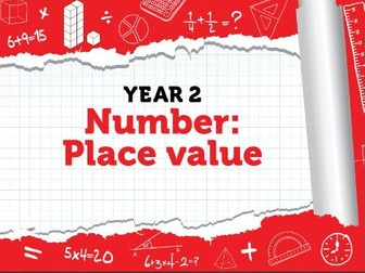 Year 2 - Place Value - Week 3 - A mixture of Place Value Problems and Activities