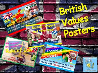 British Values: British Values Display