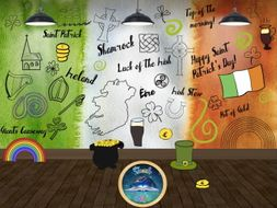 Irish Doodles - St Patrick's Day Commercial and Personal Use.