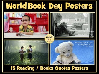 Book Quotes / Reading Quotes Posters