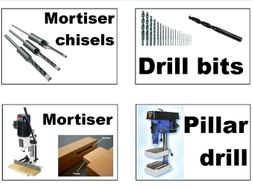 DT Tools, machinery and materials signs
