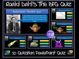 The BFG Quiz