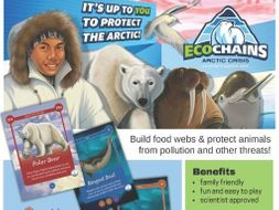 EcoChains: Arctic Life - Food Web Game for Climate Change Education