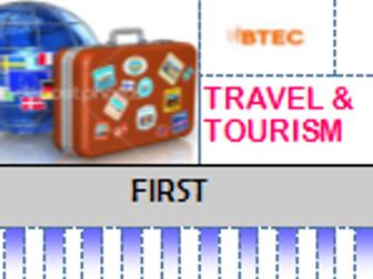 BTEC TRAVEL & TOURISM LEVEL 2 UNIT 5