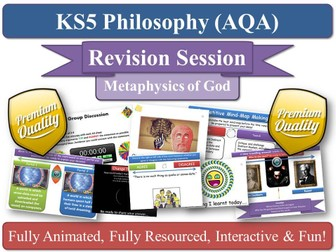 Attributes of God ( AQA Philosophy ) Metaphysics of God - Revision Session AS/ A2 Eternal Omniscient