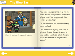 The Blue Sash Reading Book - Phase 5